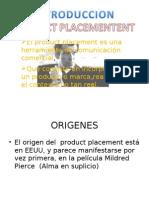 Presentacion de Product Placement[1]
