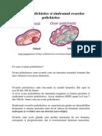Ovarele Polichistice Si Sindromul Ovarelor Polichistice