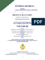 (eBook - ITA - Esoterismo - Teosofia) - (Helena Petrovna Blavatsky) - La Dottrina Segreta - Vol. 3