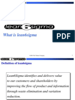 01 - What is Lean 6 Sigma