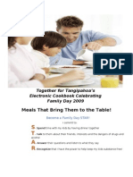 Together for Tangipahoa's Electronic Cookbook Celebrating Family Day 2009