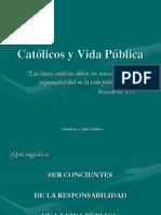 Católicos y Vida Pública
