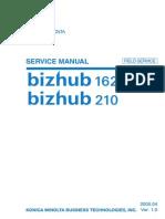 Bizhub 162-210 Service Manual