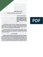 Reformas Regimen Probatorio Comentado Dec 2282-89