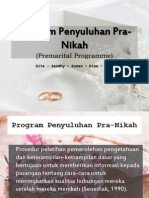 Program Penyuluhan Pra-Nikah