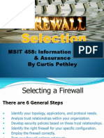 Firewall Selection
