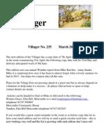 Villager 235 March 2014