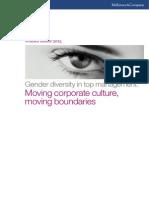 Women Matter 2013 McKinsey Report