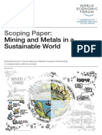 WEF MM MiningMetalSustainableWorld ScopingPaper 2014
