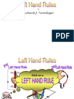 1. Left Hand Rules