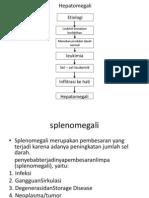 Hepatomegali & splenomegali