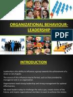 Leadership - Organiztional Behaviour