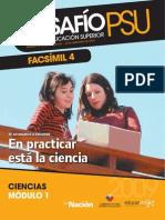 DESAFÍO PSU PARA LA EDUCACIÓN SUPERIOR CIENCIAS 2009