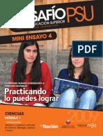 DESAFÍO PSU PARA LA EDUCACIÓN SUPERIOR MINIENSAYO CIENCIAS 2009