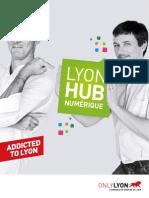 Le  Hub Numerique Lyonnais Plaquette 2013 11 pages