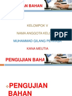 Power Point Pengujian Bahan