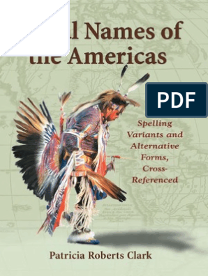 36194226 Tribal Names of the Americas   Algonquian Peoples   Native