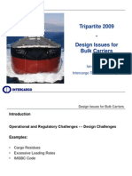 3. Design Issues for Bulk Carriers