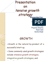 intensive growth strategy