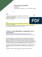 Carlos Di Fulvio, obras