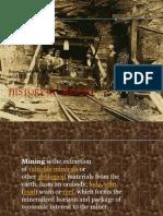 History of Mining