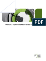 Oracler12 Employee Self Service User Guide