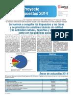 Presentado el proyecto de presupuestos 2014 para Getxo