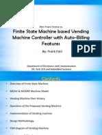 Seminar PPT on FSM Based Vending Machine