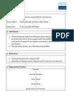LDU Job Description PDF