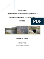 2do. Informe_Disponibilidad de Agua-Quiroz