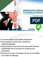 CONFERENCIA  ADMINISTRACIÓN DE PERSONAL
