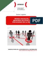 Guia Redes Sociales y Menores Internet