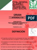 Apendicitis Aguda CIRUGIA