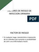 Factores de Riesgo de Infeccion Urinaria