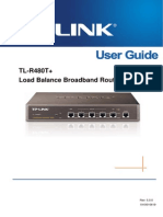 TL-R480T v5 User Guide