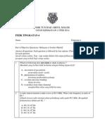 ujian1 PHYSICS Form 4