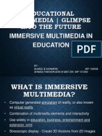 what is immersive multimedia