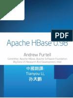 Apache HBase 0.98