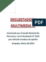 11ava Encuesta Multimedia Marzo