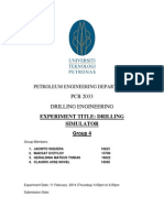 Report on drilling fluids