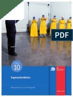 ERGONOMÍA BÁSICA gobierno de chile