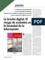 Lectura 5 La Brecha Digital