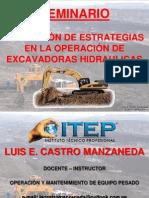 Seminario Itep - Excavadora - Castro
