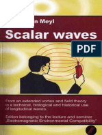 Prof. Konstantin Meyl -- Scalar waves (TOC)
