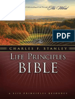 The Charles F Stanley Life Principles Bible, NASB