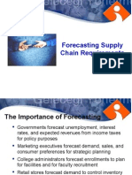 Forecasting Supply Chain Requirements