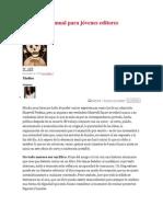 Brevísimo manual para jóvenes editores
