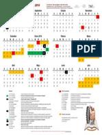 Calendario Escolar 2013-2014 - Oficial
