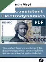 Prof. Konstantin Meyl -- Self-consistent Electrodynamics (TOC)