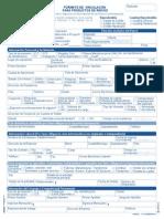Formulario de credito bancolombia